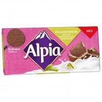 Alpia Schokoladentafeln Pistaziencreme, Quelle: Stollwerck