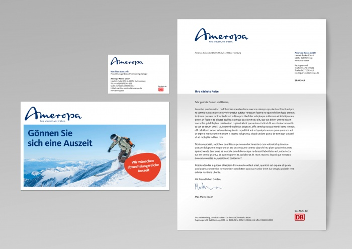 Ameropa – Corporate Design, Quelle: Peter Schmidt Group