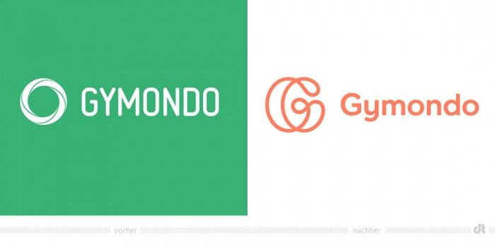 Gymondo Logo – vorher und nachher
