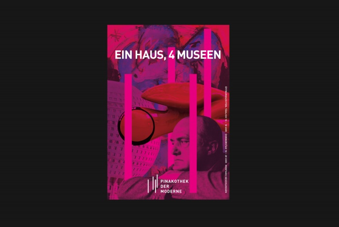 Pinakothek der Moderne – Poster, Quelle: c100studio