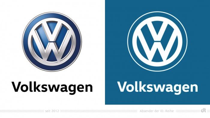 Volkswagen Logo – seit 2012 / Absender der ID.-Reihe