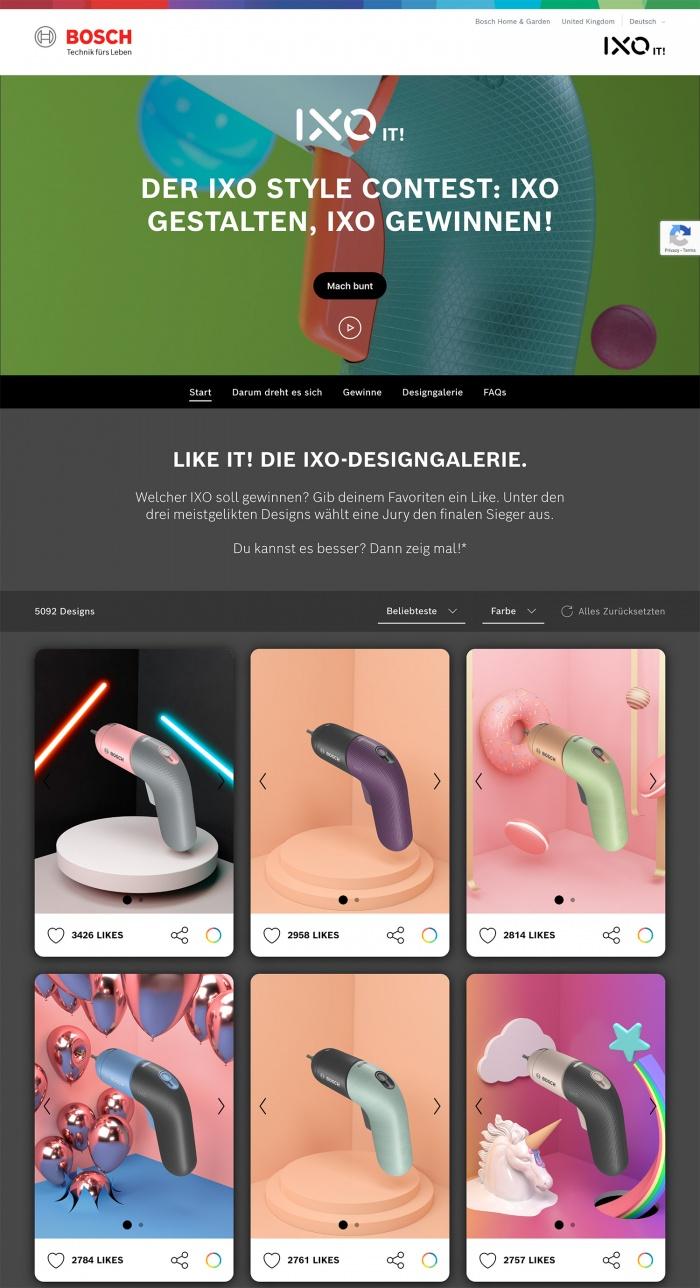Bosch IXO Design-Edition