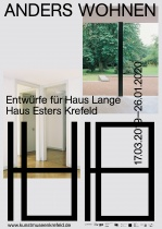 Kunstmuseen Krefeld – Anders Wohnen Flyer, Quelle: Stadt Krefeld