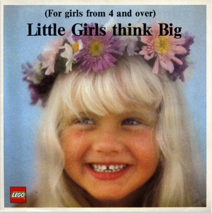 LEGO Katalog 1975 – Little girls think big