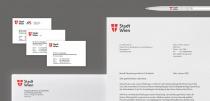 Stadt Wien Corporate Design – Geschäftsausstattung, Quelle: Stadtverwaltung Wien