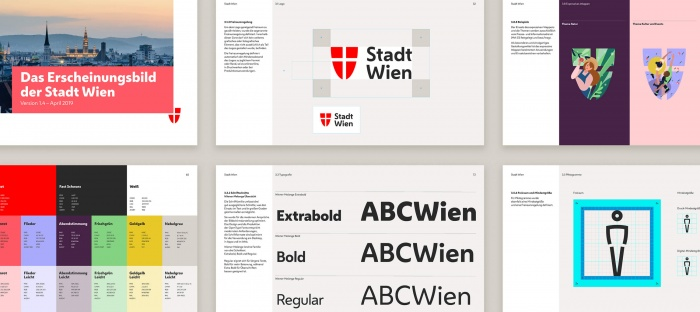 Stadt Wien Corporate Design, Quelle: Stadtverwaltung Wien