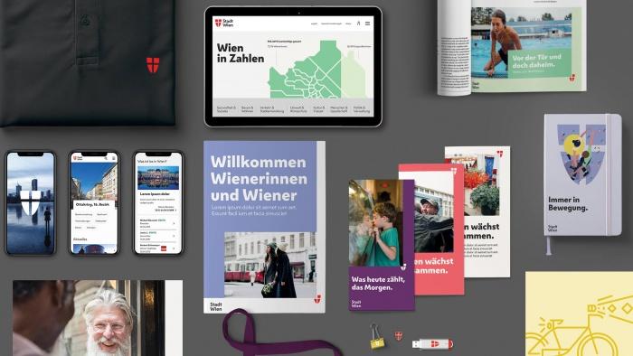 Stadt Wien – visuelles Erscheinungsbild, Quelle: Stadtverwaltung Wien