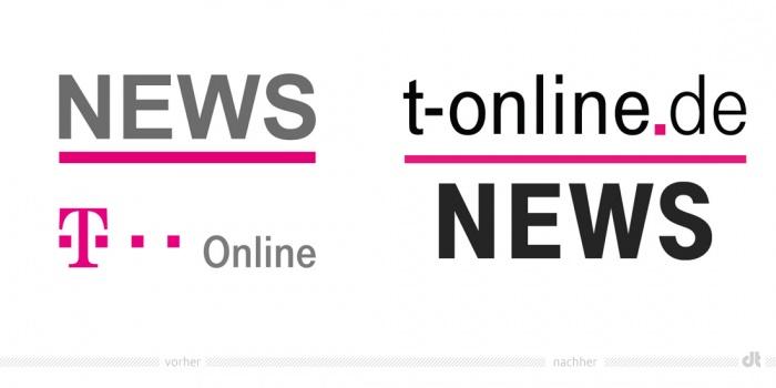 T-Online News App-Icon – vorher und nachher