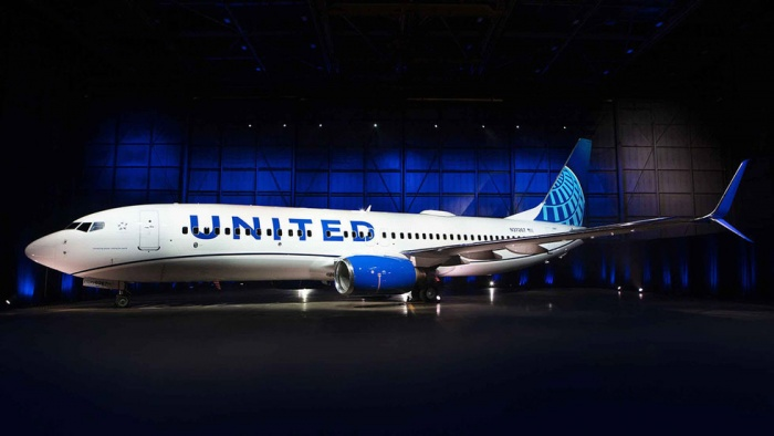 United Airlines 737 New Livery, Quelle: United