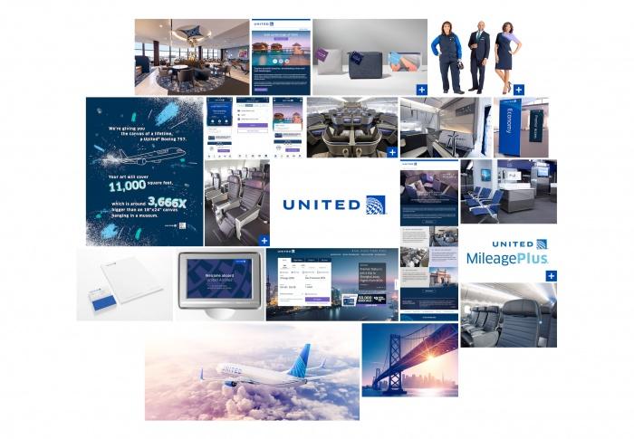 United Airlines Branding, Quelle: United