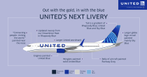 United Airlines – New Livery Info, Quelle: United