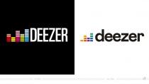 Deezer Logo – vorher und nachher