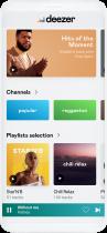 deezer Mobile App, Quelle: deezer