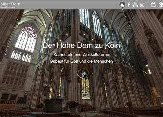 Kölner Dom Website