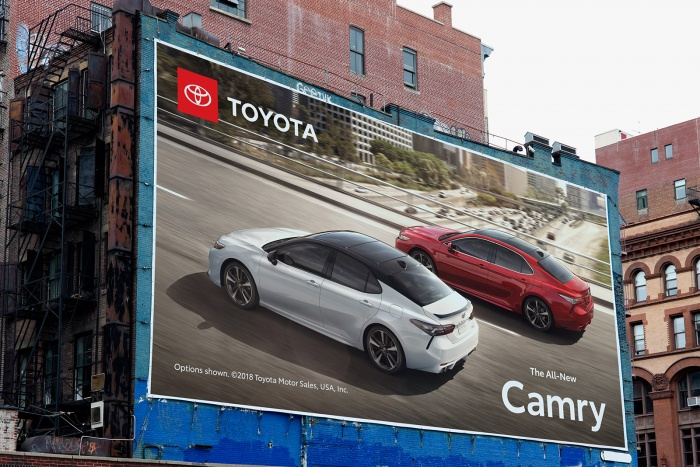 Toyota – Advertising Billboard, Quelle: Toyota USA