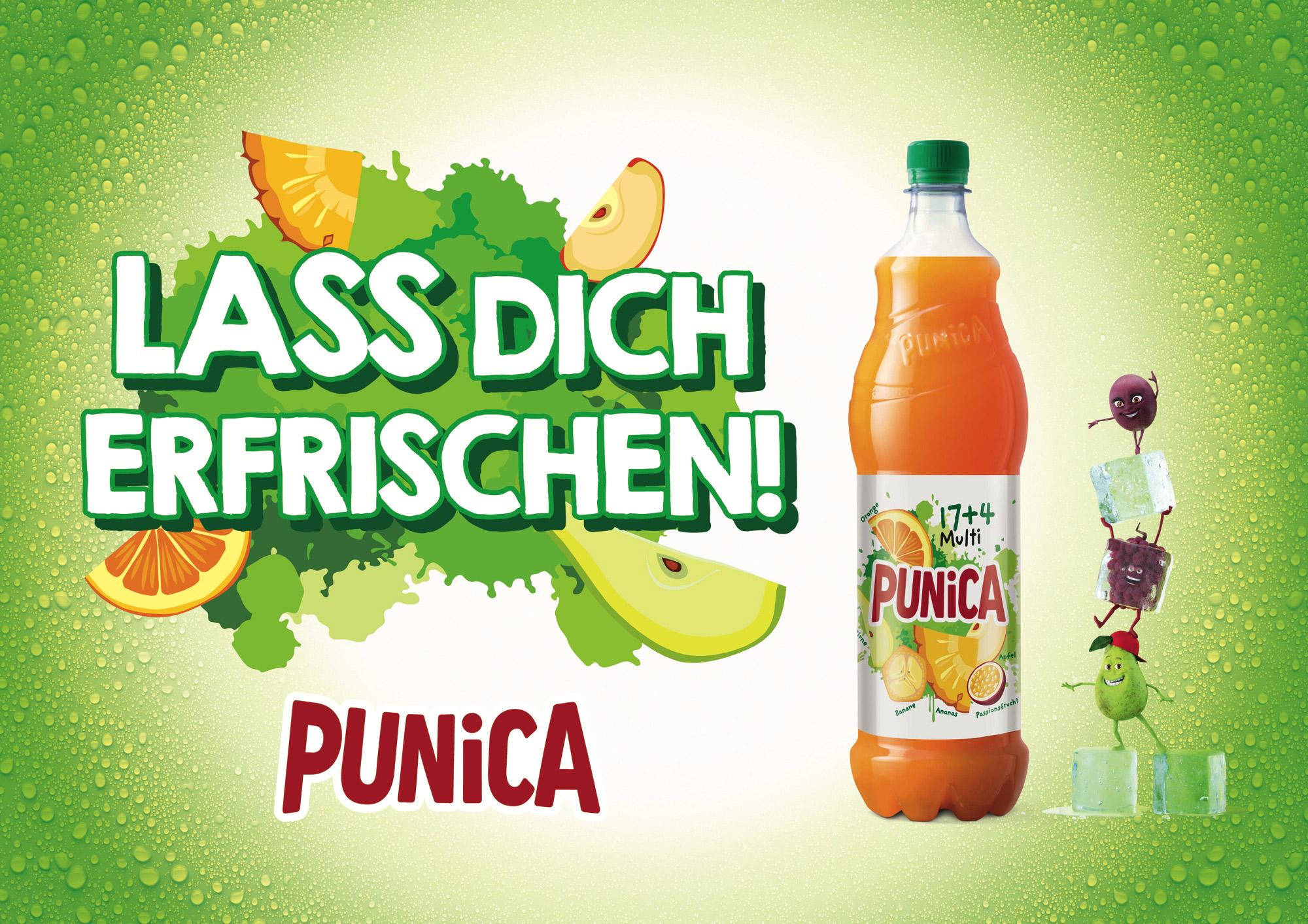 Punica – Lass Dich erfrischen!, Quelle: PepsiCo Deutschland