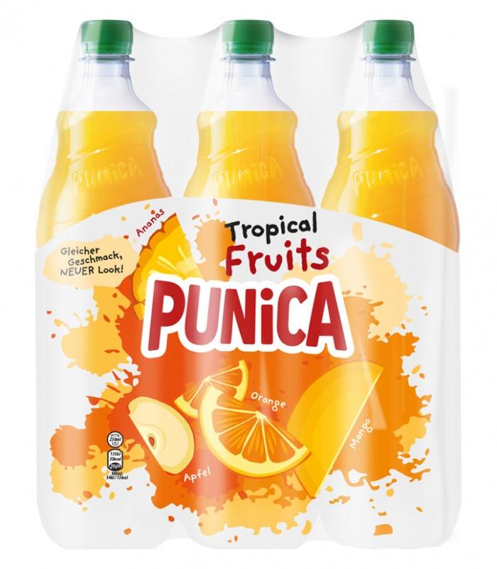 Punica Classic Tropical, Quelle: PepsiCo Deutschland
