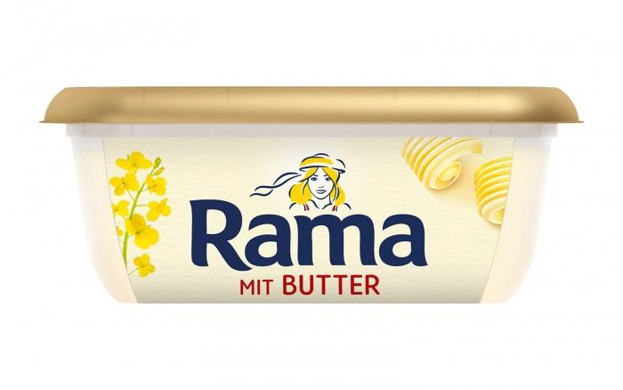 Rama mit Butter, Quelle: Unilever