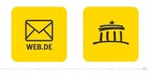 Web.de Mail & Cloud App Icon – vorher und nachher