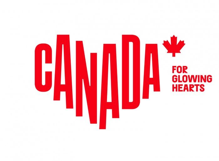 Canada Destination Logo – for glowing hearts, Quelle: Destination Canada (DC)