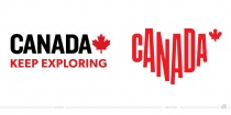 Kanada Tourismus Logo – vorher und nachher