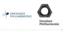 Dresdner Philharmonie Logo – vorher und nachher
