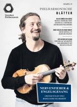 Dresdner Philharmonie Philharmonische – Blätter 02/2019 Cover, Quelle: Dresdner Philharmonie