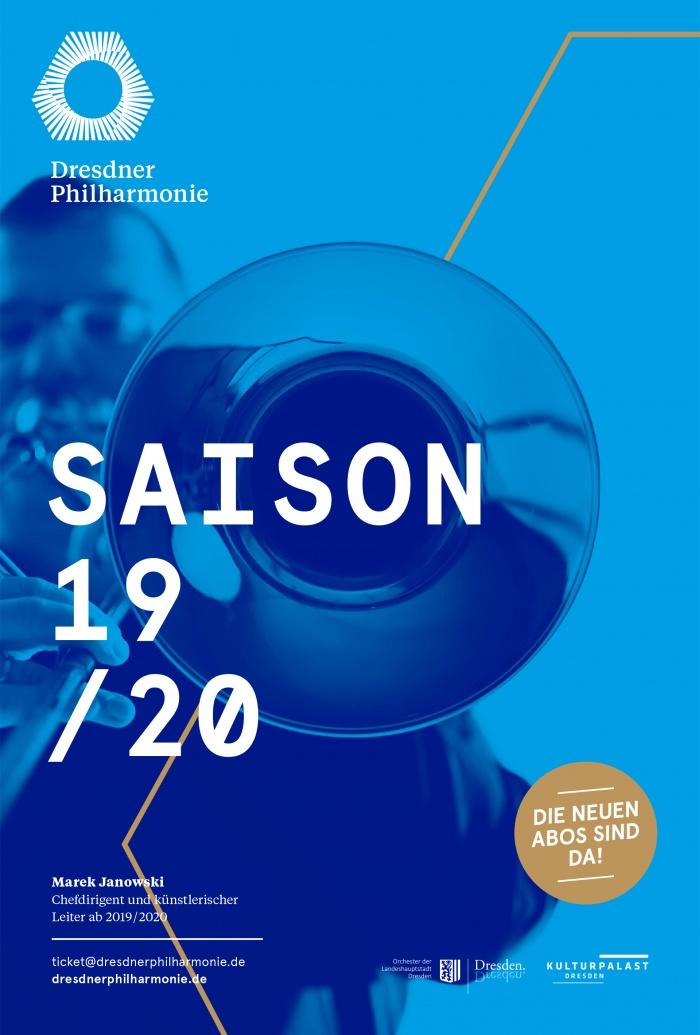 Dresdner Philharmonie Plakat, Quelle: PREUSS UND PREUSS