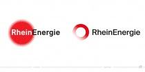 RheinEnergie Logo – vorher und nachher