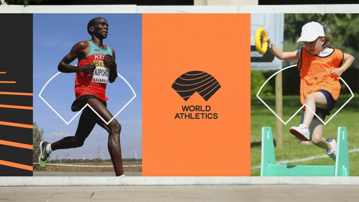 World Athletics Branding, Quelle: IAAF