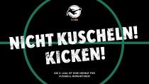 3. Liga – Nicht kuscheln! Kicken!, Quelle: Strichpunkt