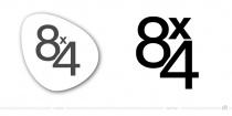 8X4 Logo – vorher und nachher