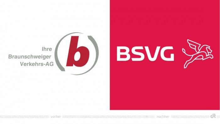 BVSG Logo – vorher und nachher
