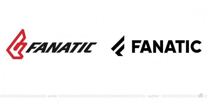 Fanatic Logo – vorher und nachher