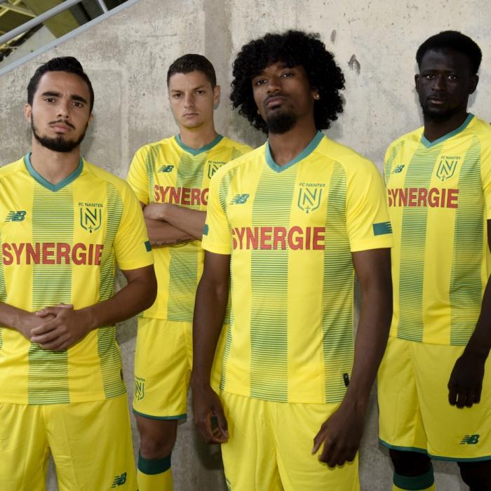 FC Nantes – Heimtrikot 2019/2020, Quelle: FC Nantes