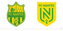 FC Nantes Logo – vorher und nachher