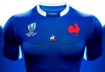 Trikot der französischen Rugby-Nationalmannschaft, Quelle: FFR