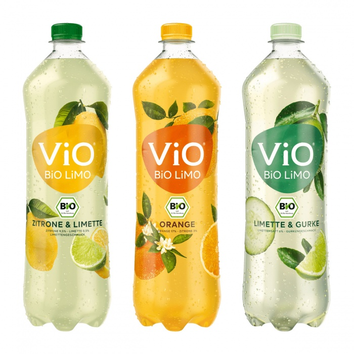 ViO Bio LIMO Range, Quelle: Coca Cola Deutschland