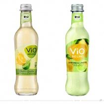 ViO Limo Zitrone Limette Glas – vorher und nachher