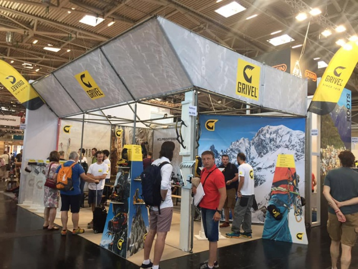 GRIVEL ISPO-Messestand 2019 Icon/Symbol, Quelle: GRIVEL