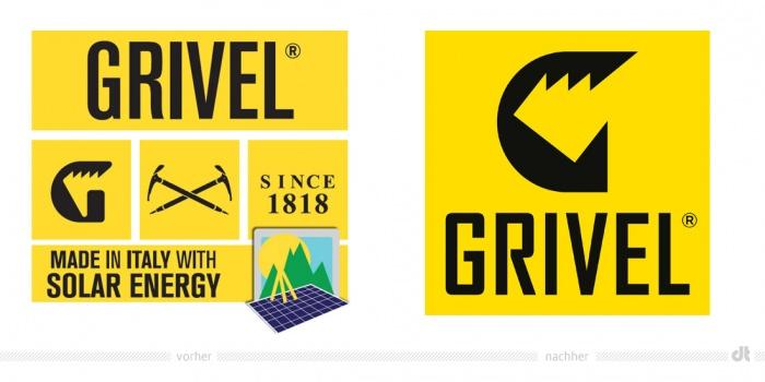 GRIVEL Logo – vorher und nachher