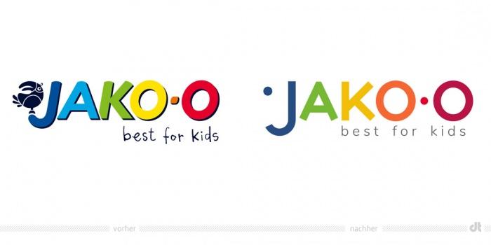 JAKO-O – vorher und nachher