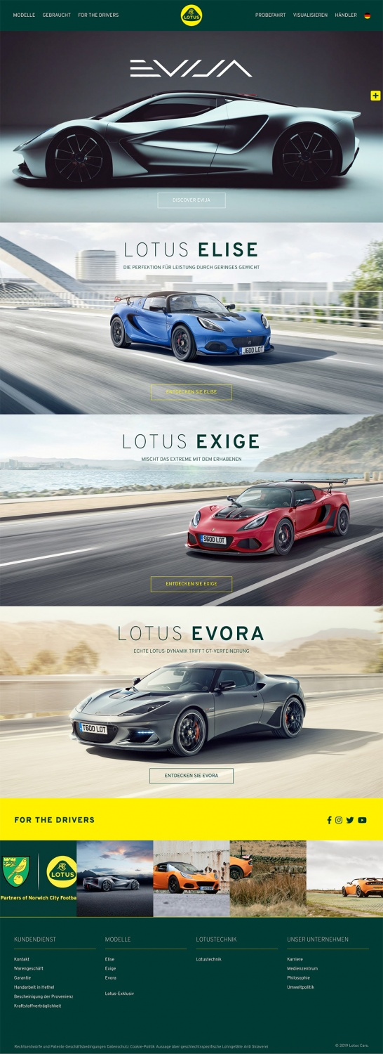 Lotus Website