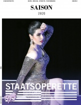 Staatsoperette Dresden – Spielzeitbuch 2019/20 Cover, Quelle: Staatsoperette Dresden