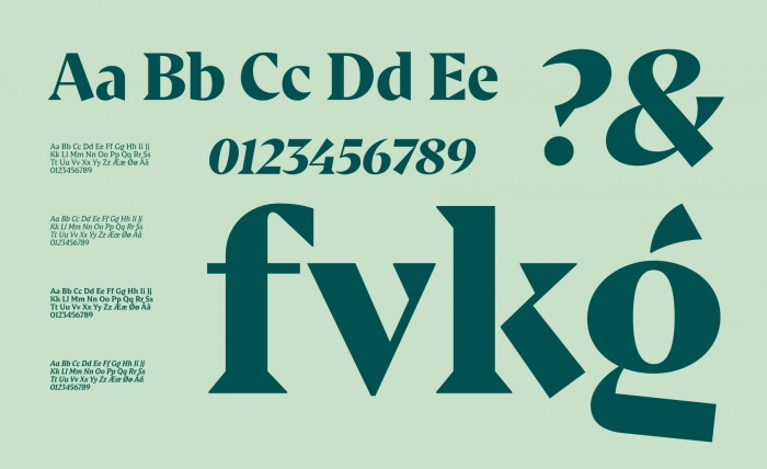 Danish Crown – Corporate Font, Quelle: Danish Crown