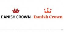 Danish Crown Logo – vorher und nachher