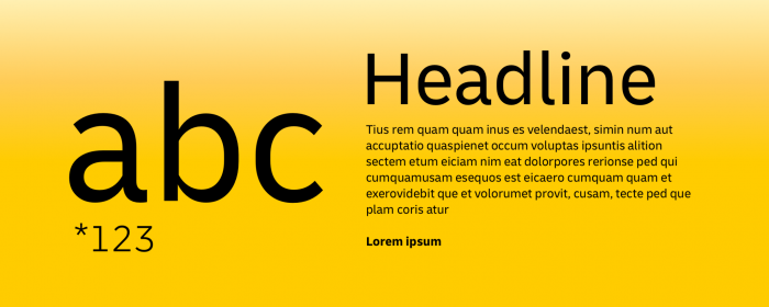 Deutsche Post Typografie, Quelle: Deutsche Post AG