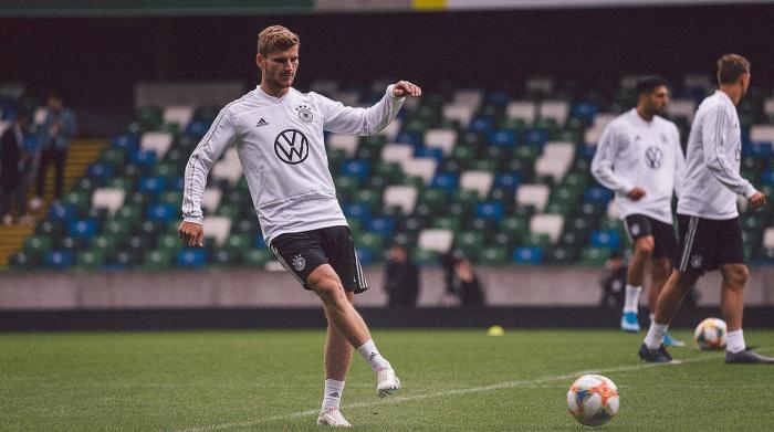 DFB-Team Nordirland - Deutschland, 09/2019, Timo Werner, Foto: DFB | PHILIPPREINHARD.COM