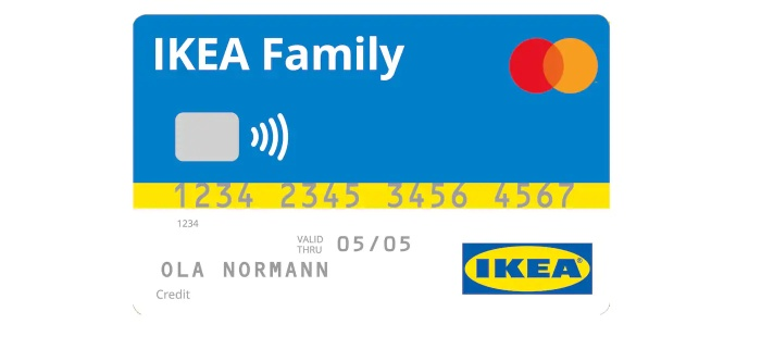 IKEA Family Kreditkarte, Quelle: IKEA