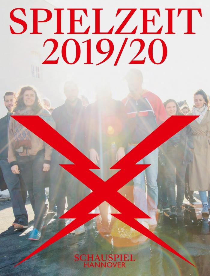 Staatstheater Hannover Spielzeitheft 2019/20 – Schauspiel Cover, Quelle: Staatstheater Hannover